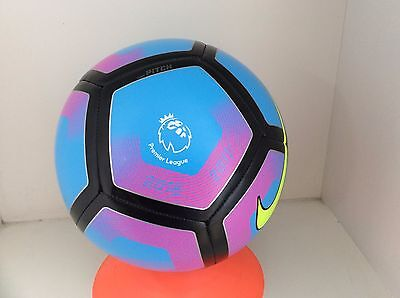 NEW Nike Pitch Premier League Soccer Training Ball Blue and Purple Size 5