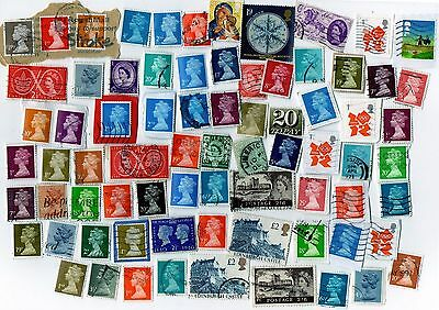 Mixed job lot. UK stamps.