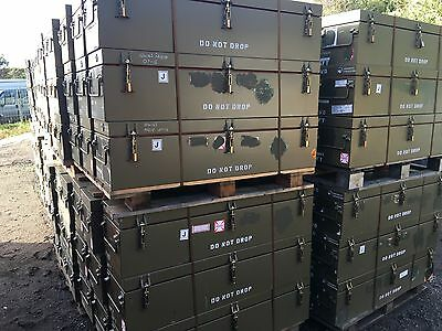 Army Box Water Proof Tool Box Case Flight Case Ammo Box Missile Case Delivery
