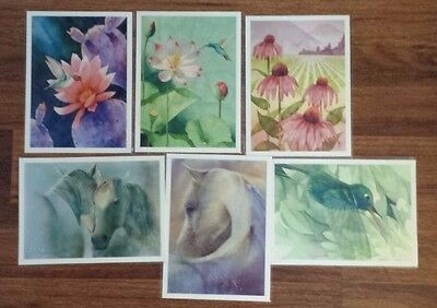 6 Gorgeous  Prints ~ Excellent Price ~Japanese Artist /Robert Hooper