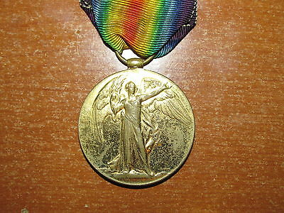 WW1 British Victory Medal named Royal Air Force RAF