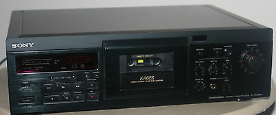 Sony Tc-Ka6Es Dolby S 3 Head Cassette Deck Top End Cassette Deck By Sony