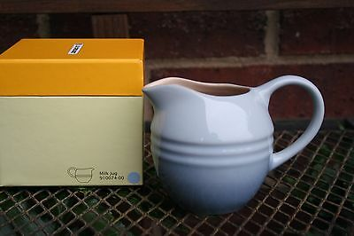 Le Creuset RARE 9 oz Creamer Jug Pitcher Container Coastal Blue New in Gift Box