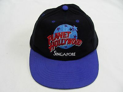 Planet Hollywood - Singapore - Youth Size - Adjustable Snapback Ball Cap Hat!