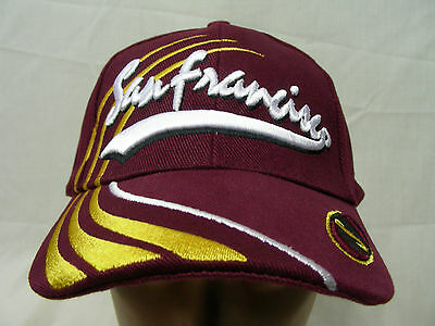 San Francisco - Embroidered - Adjustable Ball Cap Hat!