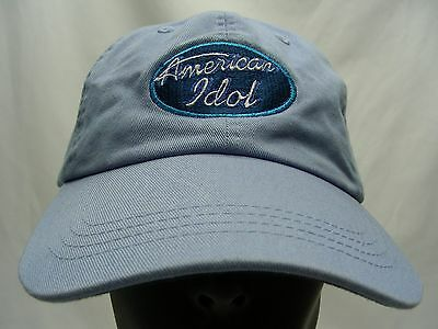 American Idol - Embroidered - Adjustable - Ball Cap Hat!