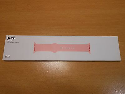 Genuine Apple Sport Band Watch Strap 42Mm Light Pink 316L Stainless Steel Pin