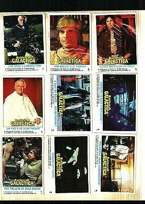1978 Topps Battlestar Galactica  Card Set 132 Cards Ex.+++ To Some Near Mint