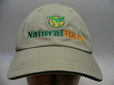 Natural Buys - Embroidered - Adjustable Ball Cap Hat!