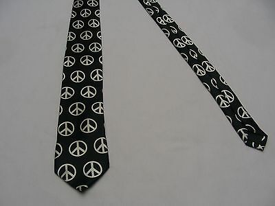 Claire's- Peace Symbol - Ladies One Size - Neck Tie!