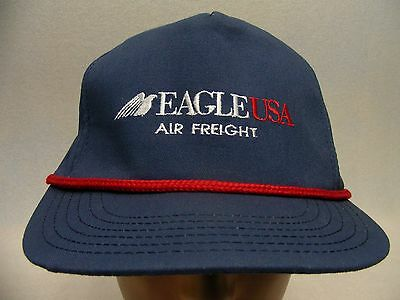 Eagle Usa - Air Freight - Embroidered - Adjustable Ball Cap Hat!