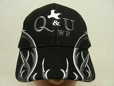 Quail And Upland Wildlife Federation - Embroidered - Adjustable Ball Cap Hat!