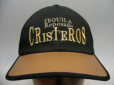 Tequila Reposado Cristeros - Embroidered - Adjustable Ball Cap Hat!