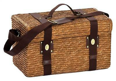 Woodstock 2 Person Picnic Basket w Insulated Cooler [ID 42563]