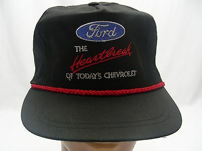 Ford - The Heartbreak Of Today's Chevrolet - Adjustable Ball Cap Hat!