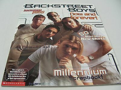 Backstreet Boys - Now & Forever! Backstage Pass - 1999 - Paperback Picture Book!