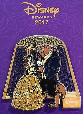 Disney Pin Belle And Beast From Beauty And The Beast Batb Disney Visa Exclusive