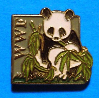 Panda - Wwf - World Wildlife Fund - Vintage Lapel Pin - Hat Pin