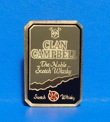 Clan Campbell - The Noble Scotch Whisky - Vintage Lapel Pin - Hat Pin - Pinback