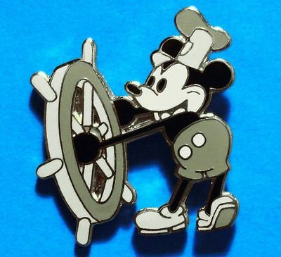 Mickey Mouse - Steamboat Willie - Disney - Vintage Lapel Pin - Hat Pin