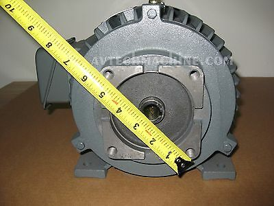 Ac Electric Motor 3Hp 2.2Kw 3 Phase New Sk831802
