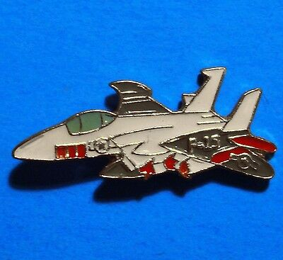 Eagle - F 15 - Us Air Force Jet Fighter - Airplane - Vintage Lapel Pin - Hat Pin