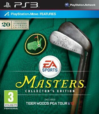 Tiger Woods PGA Tour 13: Masters Collector's Edition (PS3) - Game  DQVG The