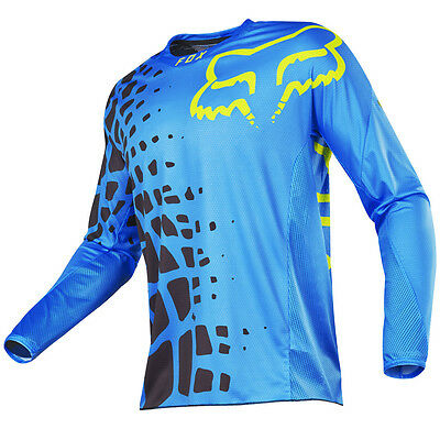 2017 Fox MX Mens 360 Jersey - Grav Blue Motocross Offroad Trail Enduro