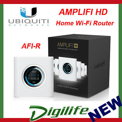 Ubiquiti AMPLIFI High Density HD MESH Home WiFi AC Router 3x3MIMO 1750Mbps AFI-R