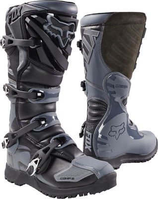 Fox 2018 Fox Comp 5 Offroad Boot Black/Grey