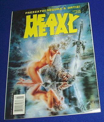 Heavy Metal January 1996.  Frezatto, Boucq.  New.
