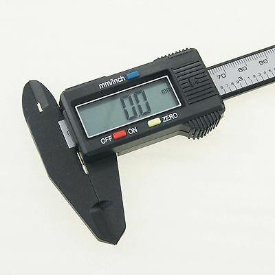 Digital Vernier Caliper 150mm Micrometer Fiber Carbon