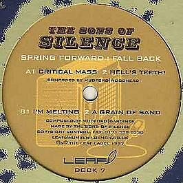 The Sons Of Silence - Spring Forward : Fall Back - Leaf - 1997 #414731