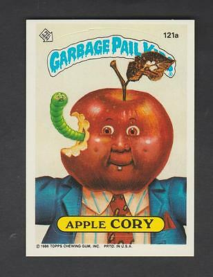 1986,TOPPS CHEWING GUM,GARBAGE PAIL KIDS,*APPLE CORY*-*121a*