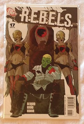 R.E.B.E.L.S. #17 (NM) Aug 2010 DC Comics