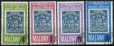 Malawi 1966 SG#263-6 Postal Services 75th Anniv Used Set #D42635