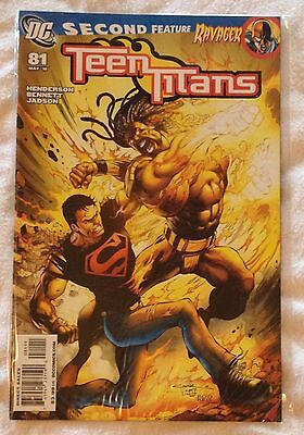 DC Teen Titans #81 (NM) direct sales edn May 2010