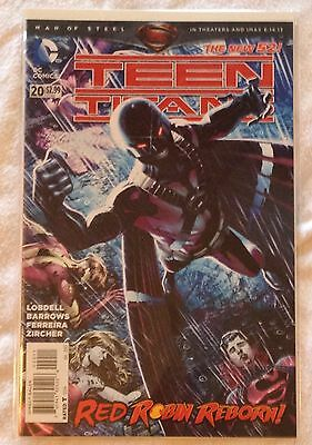 DC Teen Titans #20 (NM) vol. 4, July 2013 Lobdell's Trigon