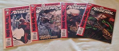 DC Justice League: The Rise of Arsenal #1-4 (NM) May-Aug 2010 WHOLE SET