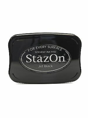 stazon ink pad - Jet black.  SZ-31