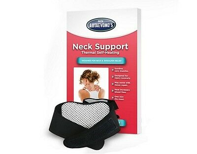 Doctor Lutaevono's Thermal Self Heating Neck Support All In Price £11.99*Bargain