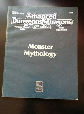 Advanced Dungeons and Dragons 2nd Edition Monster Mythology