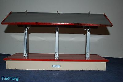 Lionel Trains 155 Freight Station Shed Platform Late Colors Standard Gauge **
