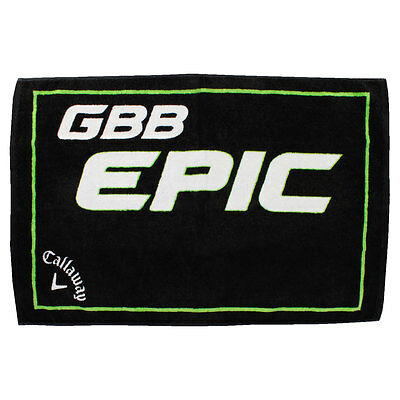 "Callaway Golf 2017 Cotton EPIC Tour Towel 20""x30"" - Black"