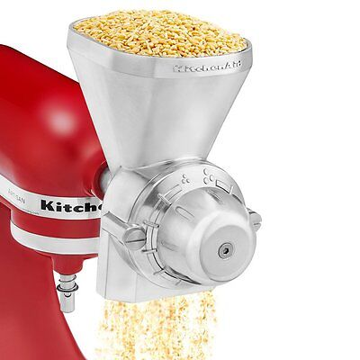 Grain Mill Wheat Rice Coffee Corns Nuts Crusher Grinder Stainless Metal Rollers