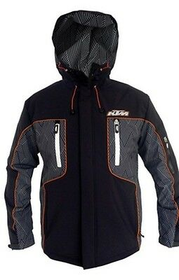 Brand New Ktm Racing Soft Shell Jacket Men's 3Pw1551304 3Pw1551305 3Pw1551306