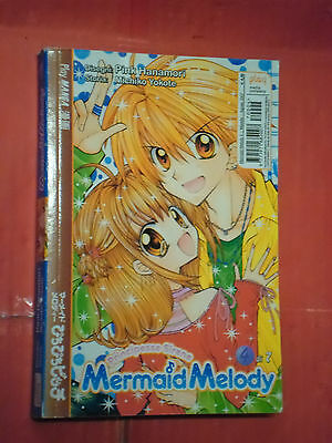 MERMAID MELODY- principesse sirene- N°4- DI: PINK HANAMORI- MANGA PLAY PRESS