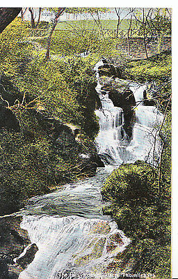 Scotland Postcard - The Falls - Rouken Glen - Thornliebank   SL505