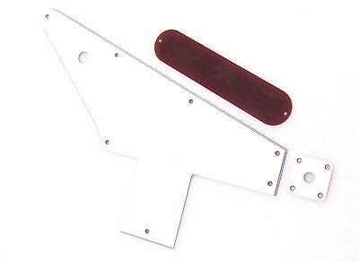 Gibson 58' Explorer Replica Pickguard and Jack Plate Set Thin 4 Layer WBWB