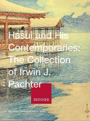 Skinner Hasui Contemporaries Japan Prints Pachter Collect Auction Catalog 2014